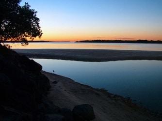 Balllina sunrise — Bay NSW